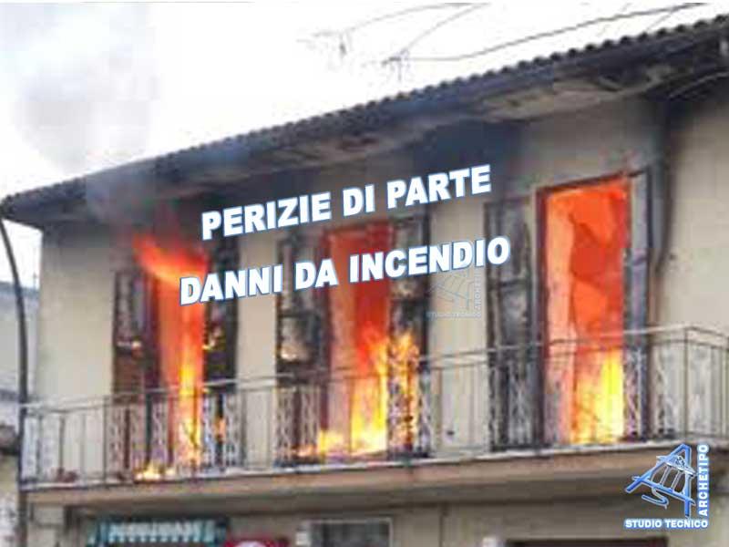 Perizia di parte danni da incendio