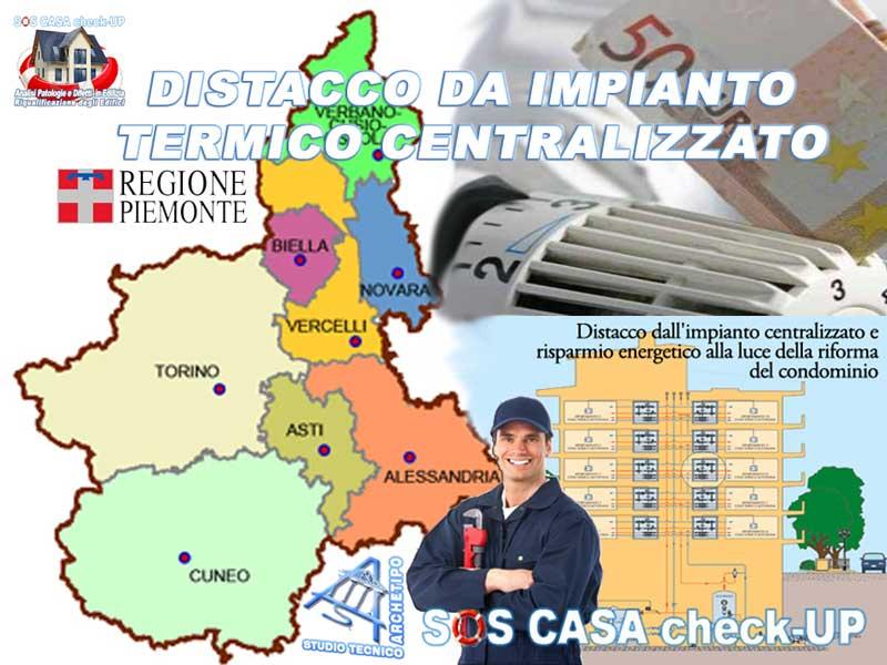 distacco impianto-termico centralizzato in Piemonte