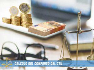 calcolo costo CTU parcella compenso CTU CTP